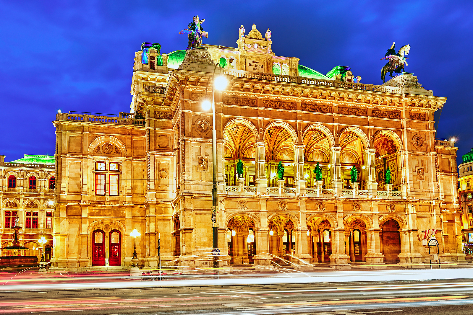 Vienna State Opera Is An Opera House.it Is Located In The Centre