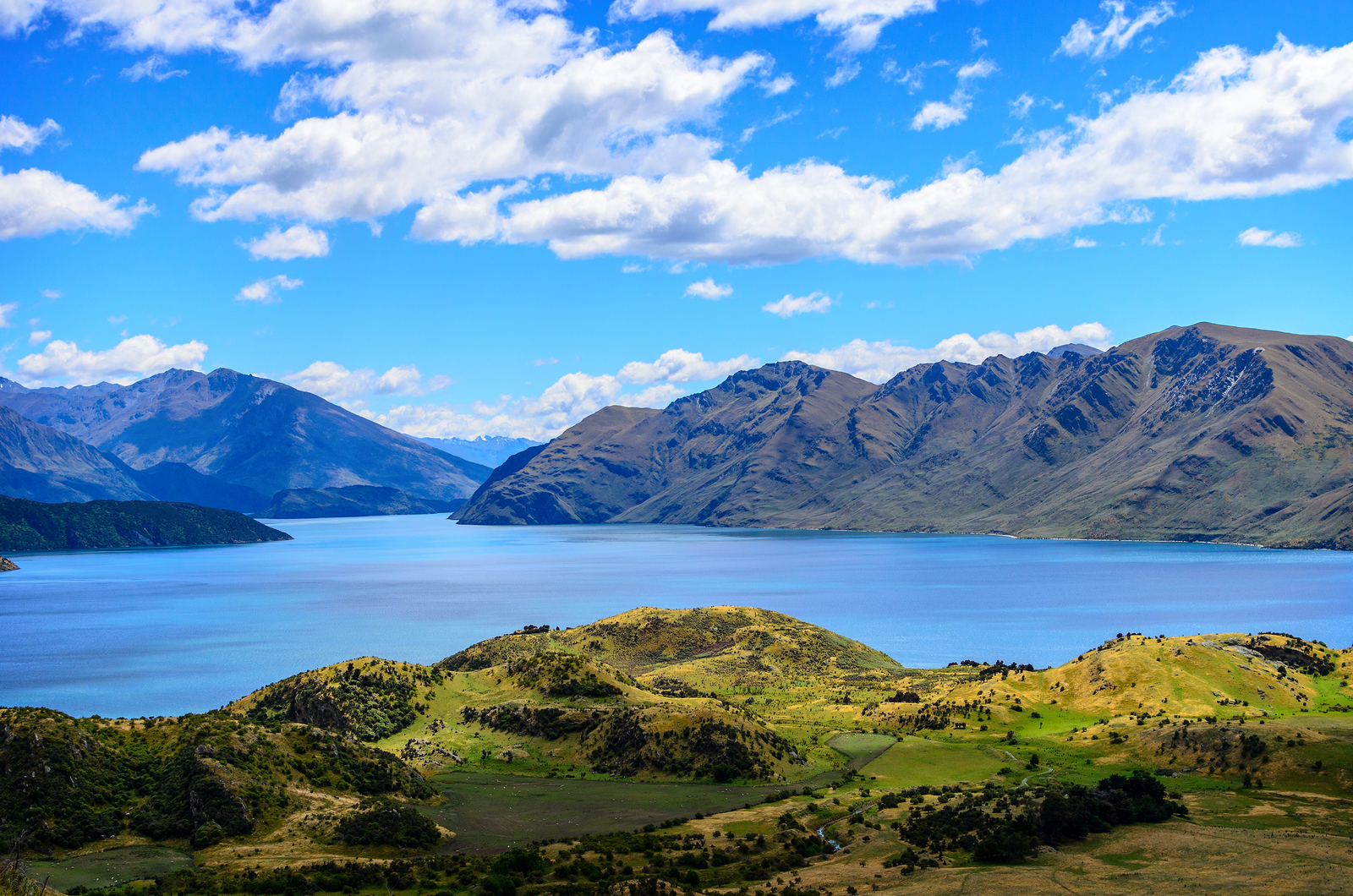Lake Wanaka and Mt Aspiring